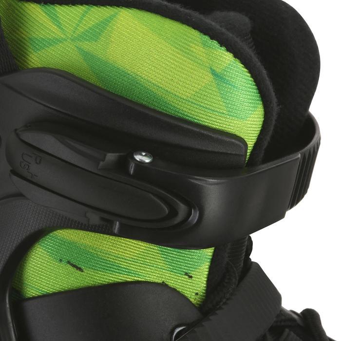 Roller junior freeride KHAAN JUNIOR POWERSLIDE noir vert - 1029182