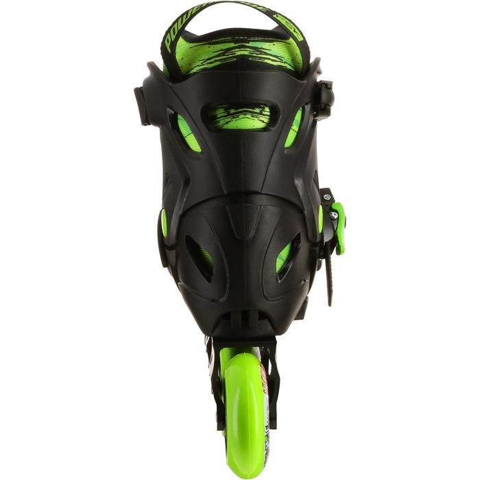 Roller junior freeride KHAAN JUNIOR POWERSLIDE noir vert - 1029183