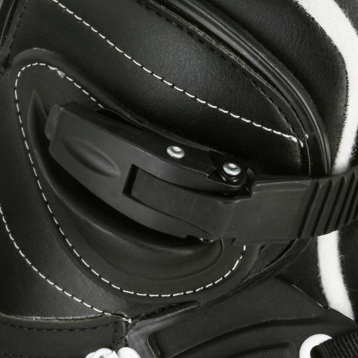 Inline Skates Inliner Aggressive Realm Team USD Erwachsene schwarz/weiß