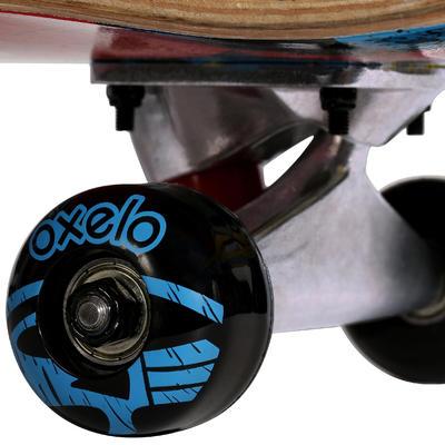 Skateboard junior MID100 GAMER rouge