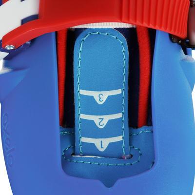 حذاء التزلج للأطفال Play 3 - لون أزرق/ أحمر