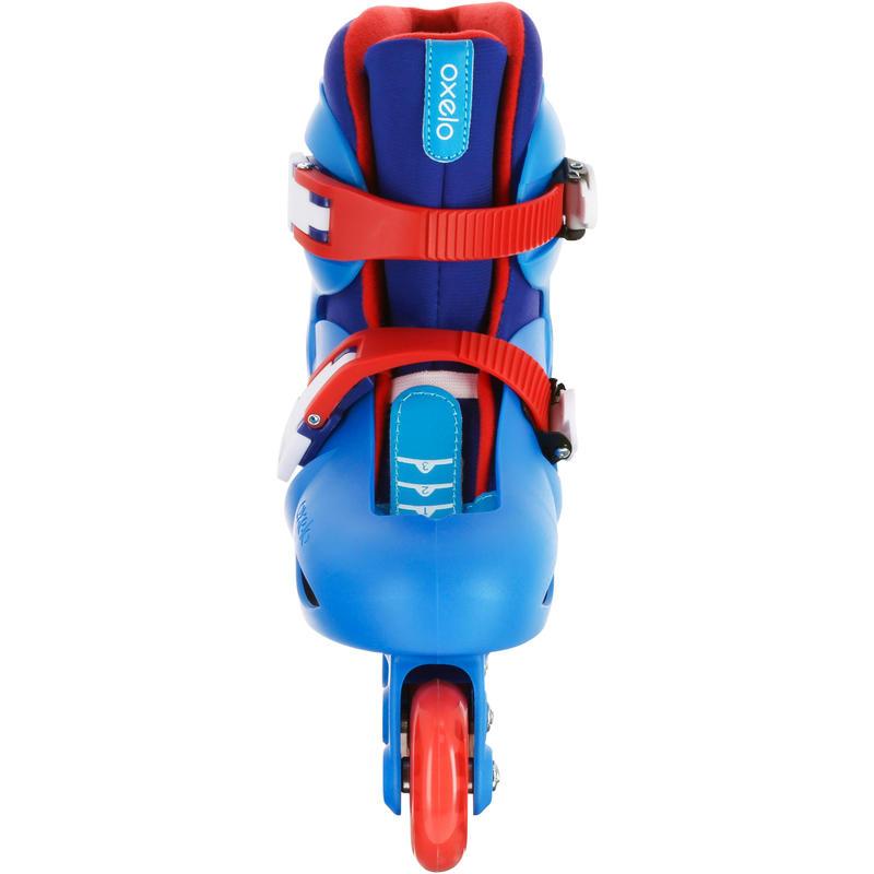 Play 3 Kids' Roller Skates - Blue/Red