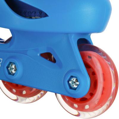 רולרבליידס לילדים Play 3 - כחול/אדום
