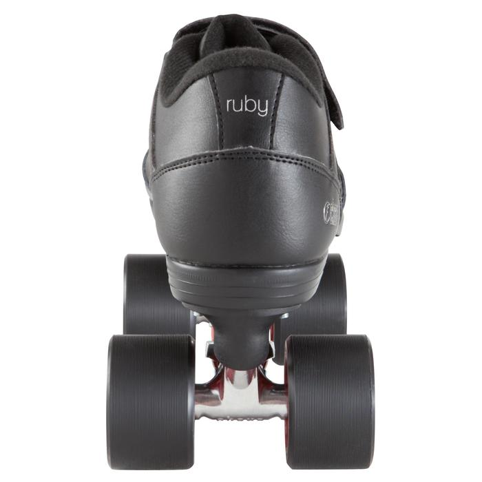 Quad derby adulte Powerslide CHAYA RUBY noir