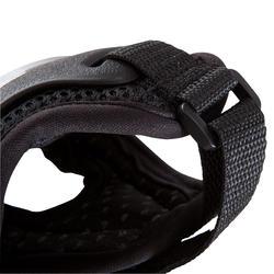 Set van 3 beschermers Fila voor volwassenen, voor skaten, skateboard zwart - 1029375
