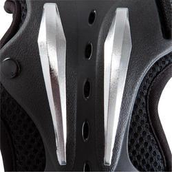 Set van 3 beschermers Fila voor volwassenen, voor skaten, skateboard zwart - 1029376