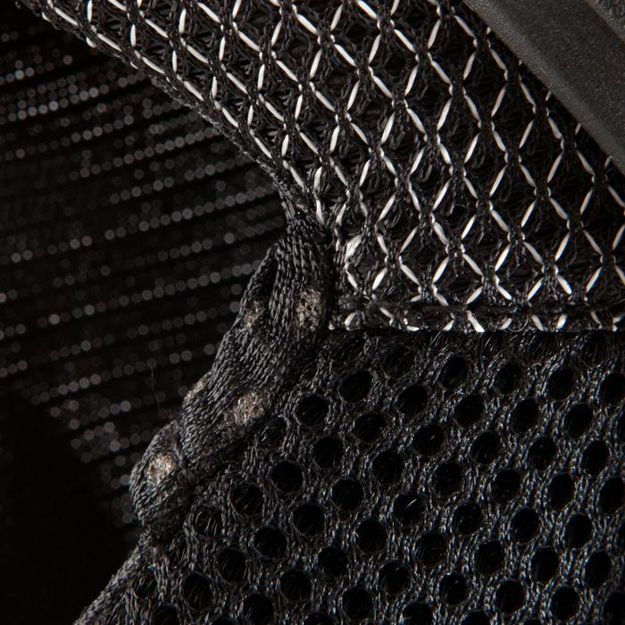 Kit 3 protecciones roller skateboard patinete adulto FILA negro