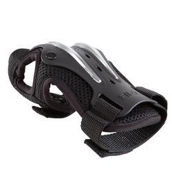 Set van 3 beschermers Fila voor volwassenen, voor skaten, skateboard zwart - 1029386