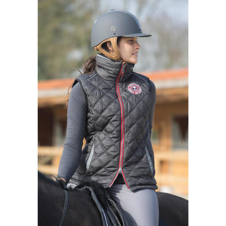 34f608fe1792 gilet doudoune sans manche equitation femme performer noirgris chevron fouganza 8366080 1029457.jpg