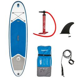 "Opblaasbaar stand-up paddle board 10'7"" blauw"