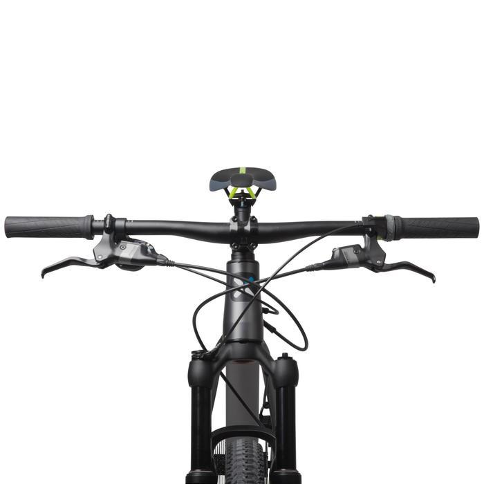 "Rockrider 900 27.5"" Mountain Bike - Grey/Neon Yellow - 1030331"