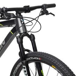 MTB Rockrider 900 grijs/limoen 27,5 inch - 1030332