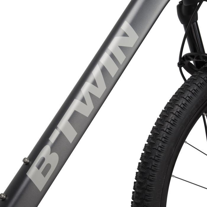 "Rockrider 900 27.5"" Mountain Bike - Grey/Neon Yellow - 1030333"