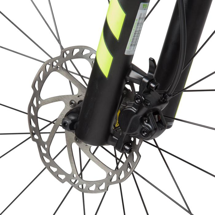 "Rockrider 900 27.5"" Mountain Bike - Grey/Neon Yellow - 1030338"