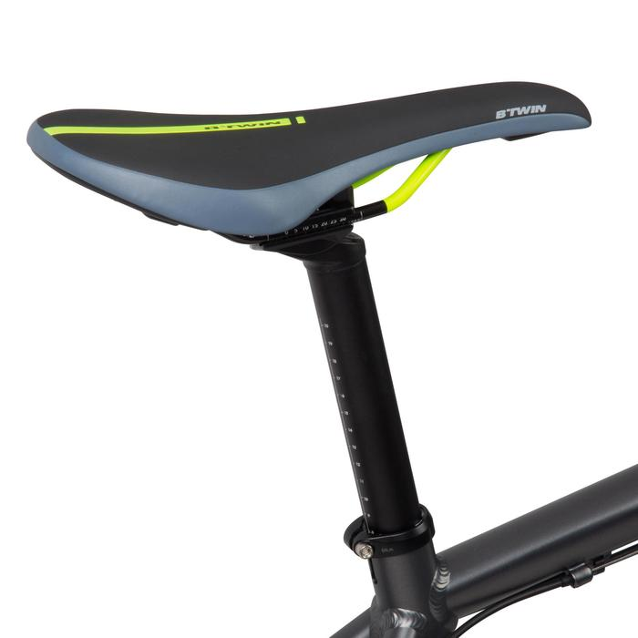 "Rockrider 900 27.5"" Mountain Bike - Grey/Neon Yellow - 1030340"