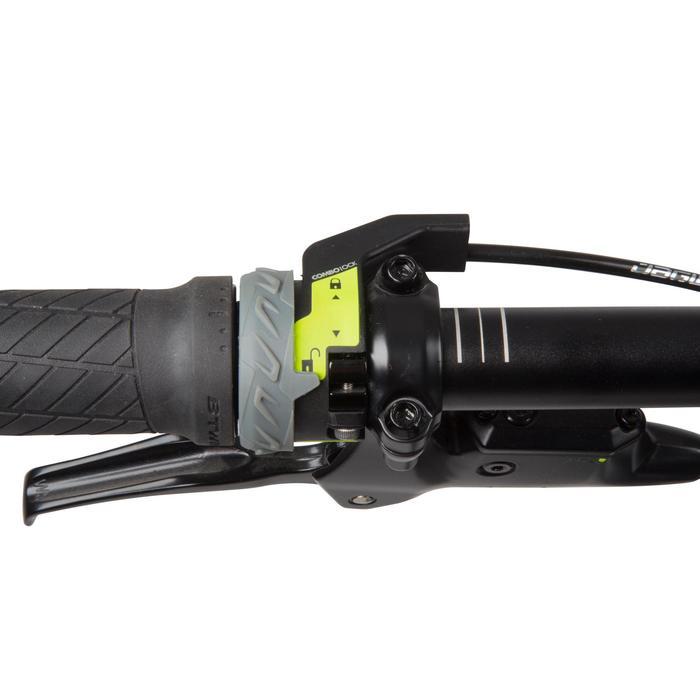 "Rockrider 900 27.5"" Mountain Bike - Grey/Neon Yellow - 1030342"
