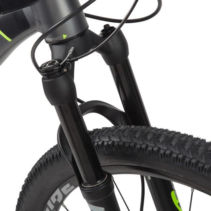 "Rockrider 900 27.5"" Mountain Bike - Grey/Neon Yellow - 1030344"