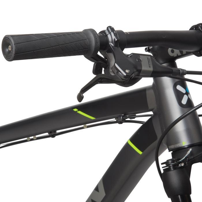 "Rockrider 900 27.5"" Mountain Bike - Grey/Neon Yellow - 1030345"