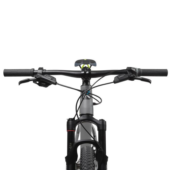 "Rockrider 920 27.5"" Mountain Bike - Grey/Lime - 1030350"