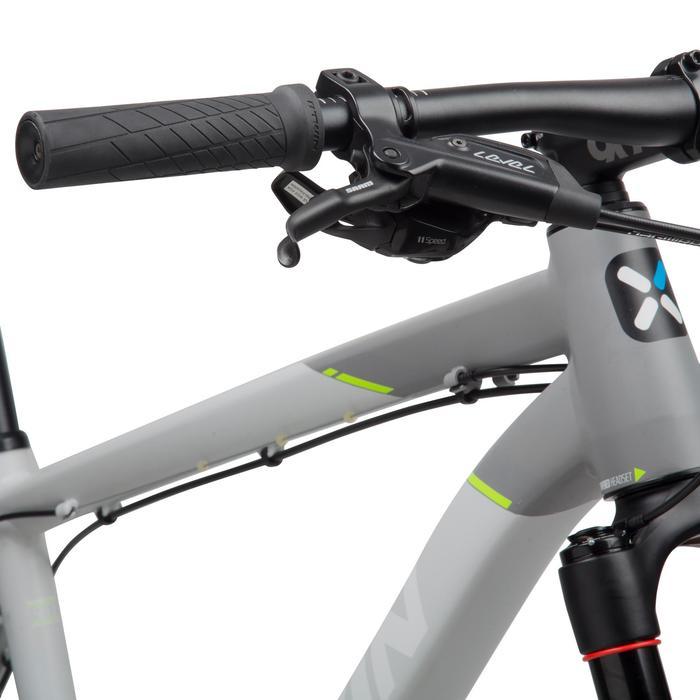 "Rockrider 920 27.5"" Mountain Bike - Grey/Lime - 1030351"