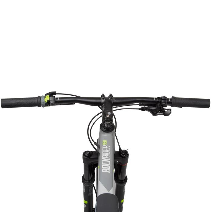 "Rockrider 920 27.5"" Mountain Bike - Grey/Lime - 1030354"