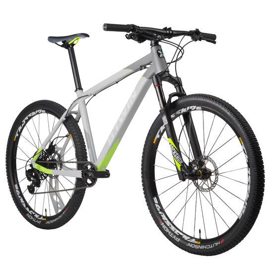 MTB Rockrider 920 grijs/limoen 27.5 inch - 1030360