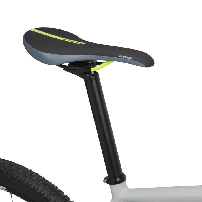 "Rockrider 920 27.5"" Mountain Bike - Grey/Lime - 1030364"