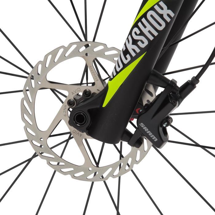 "Rockrider 920 27.5"" Mountain Bike - Grey/Lime - 1030367"