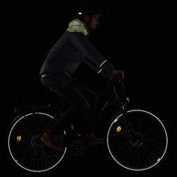 Fietsjack warm stad 900 heren reflecterend fluogeel (lime) - 1030471