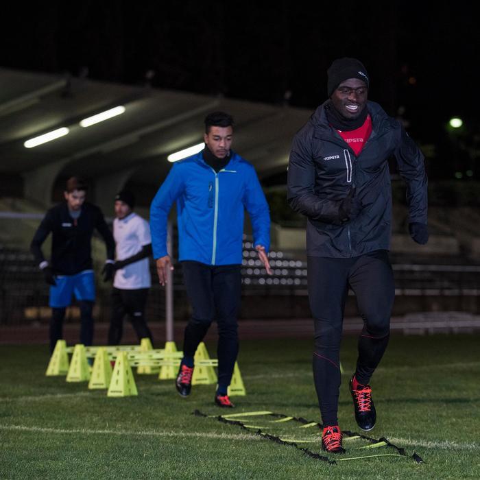 Voetbal regenjack voor volwassenen T500 zwart