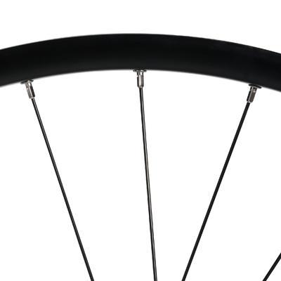 """אופני הרים 27.5"""" גלגל אחורי עם דופן כפולה מעצורי דיסק וקסטה - שחור"""
