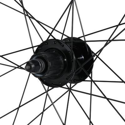 "Rin para Bicicleta de MTB 27,5"" Trasera Freno Disco Cassette Doble Pared Negra"