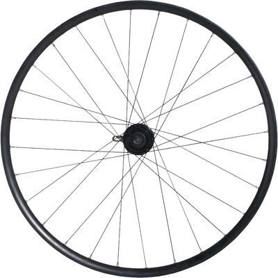 """אופני הרים 27.5"""" גלגל קדמי עם דיסק דופן כפולה - שחור"""