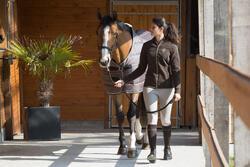 Staldeken Stable 200 ruitersport bordeaux - paard - 1031098