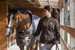 Staldeken Stable 200 ruitersport bordeaux - paard - 1031099