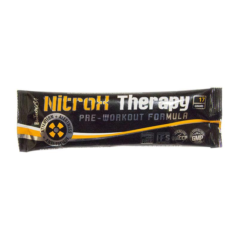 FEHÉRJÉK ÉS EGYÉB TÁPLÁLÉKKIEGÉSZÍTŐK Táplálékkiegészítő - Nitrox Therapy 17 g áfonya BIOTECHUSA - Testépítés, cross training