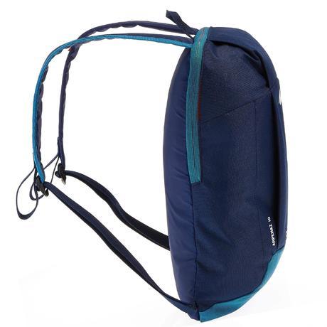 sac a dos de randonn e nh100 10 litres bleu bleu quechua. Black Bedroom Furniture Sets. Home Design Ideas