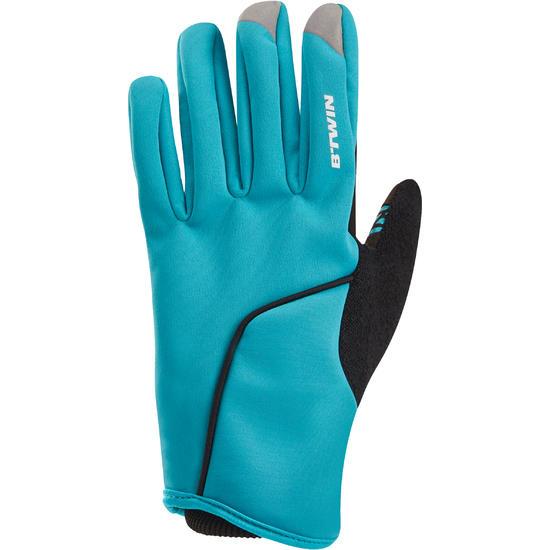 Winterhandschoenen dames 500 blauw - 1031834