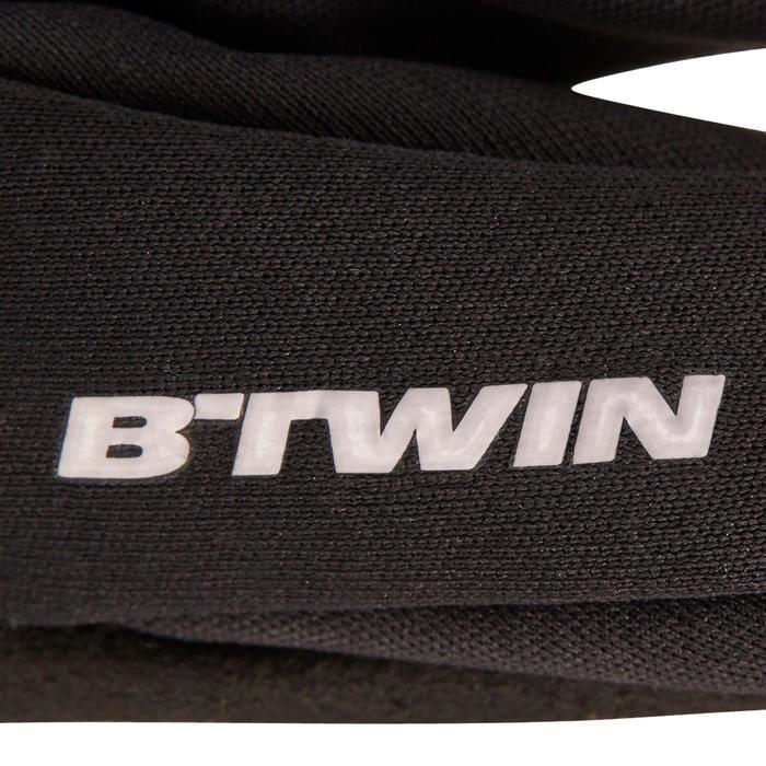 Fahrrad-Handschuhe Herbst 500 schwarz