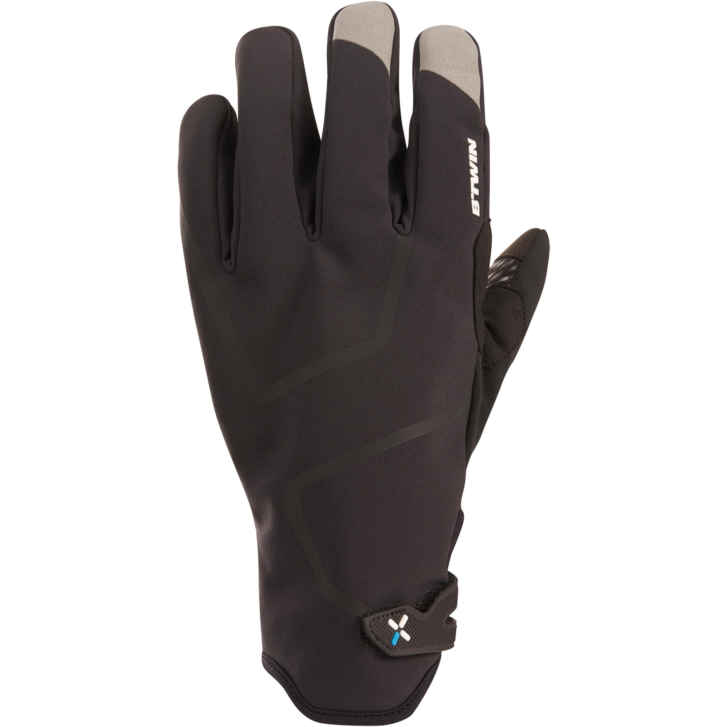 700 Winter Cycling Gloves - Black