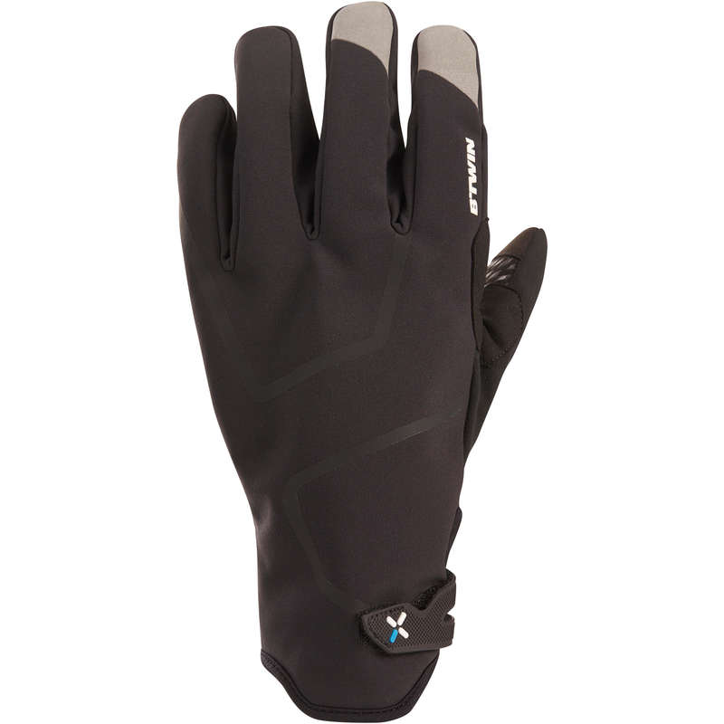 COLD WEATHER ROAD CYCLING GLOVES Cycling - RR 900 Winter Cycling Gloves - Black BTWIN - Clothing
