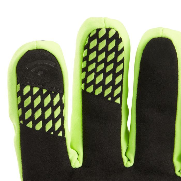 Fietshandschoenen 900 winter fluogeel