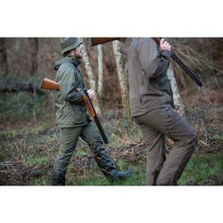 Jagd-Regenhose 100 verstärkt und wasserdicht Herren grün