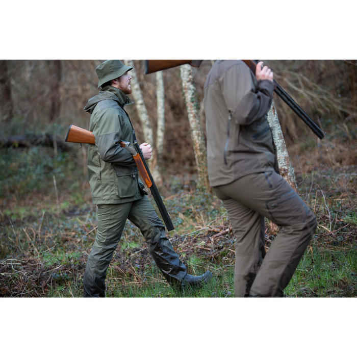 Pantalon imperméable chasse RENFORT 100 VERT - 1032122