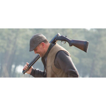 Casquette plate chasse Steppe marron