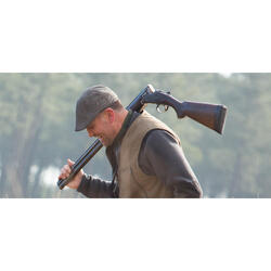Platte jagerspet Steppe bruin