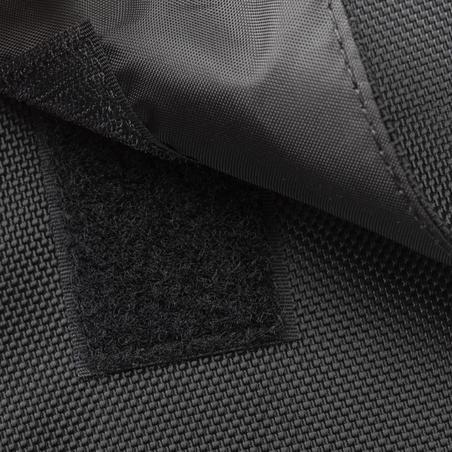 500 Double Bag 2 x 20L - Black