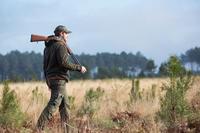 Polaire chasse moutonnée 900 verte