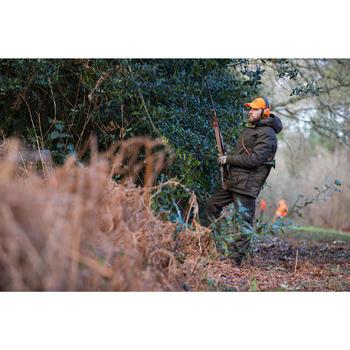 Warme waterdichte jagersparka 500 groen