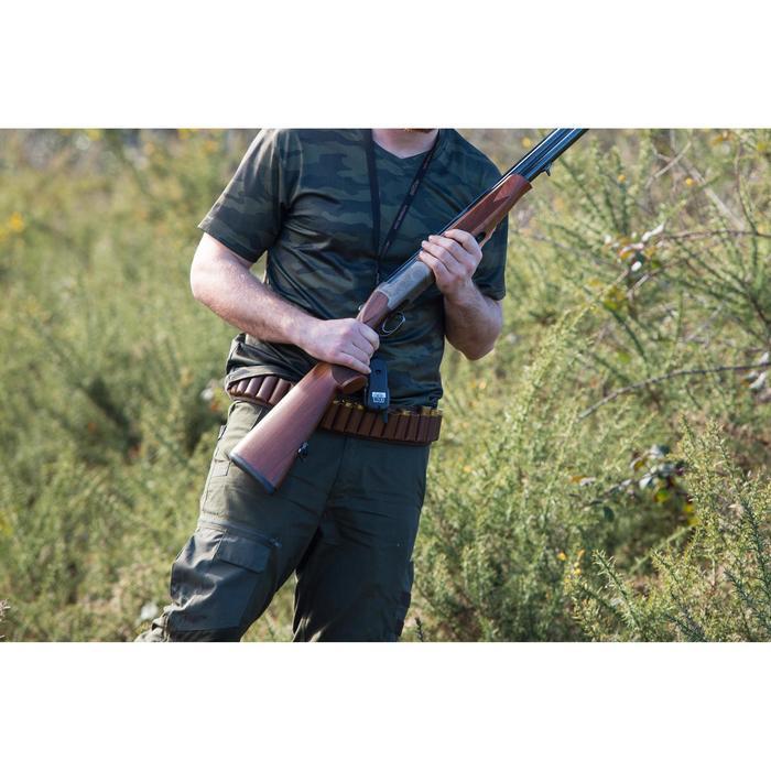 Jagd-T-Shirt SG100 atmungsaktiv kurzarm camouflage khaki